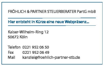Rainer Fröhlich & Partner Steuerberater